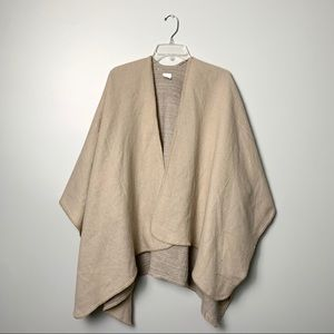 A New Day Taupe Cozy Poncho